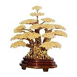 WSFANG Feng Shui Money Treei Cristallo Naturale Bonsai Fortune Money Tree for buona Fortuna ricchezza e prosperità-Home Office Decor Spirituale di Apertura Regalo Regalo per L'Ufficio a casa