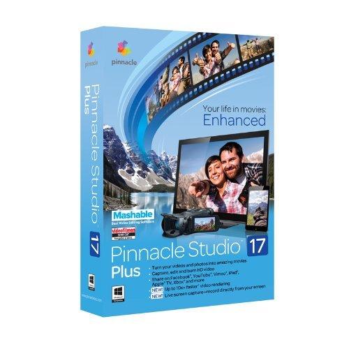 Vollversion Pinnacle Studio Plus / Version 17 / Windows / Multi Language / CD Mini box