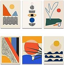 Amazon Com Mid Century Modern Abstract Art