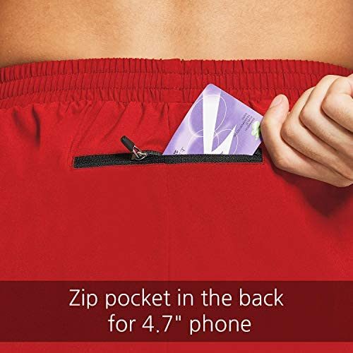 "BALEAF Men's 5"" Running Athletic Shorts Zipper Pocket"