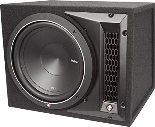 """Rockford Fosgate Punch P1-1X12 Single P1 12"""" Loaded Subwoofer Enclosure Ported"""
