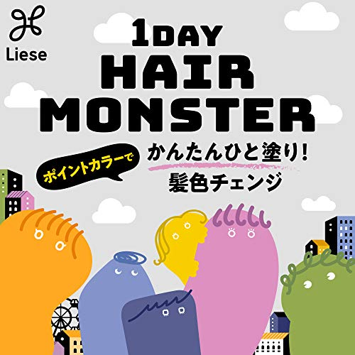 Kao(花王)『リーゼ1DAYHAIRMONSTER』