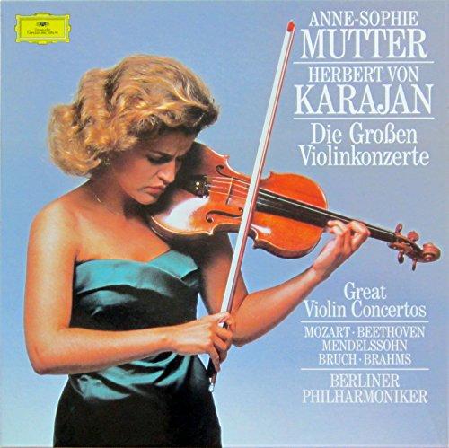 Die großen Violinkonzerte [Vinyl Schallplatte] [4 LP Box-Set]