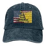 Hat Bandera Americana Denim Teñido En Hilo Pesca Personalizada Hombres Duraderos Y Acogedores Protección Solar Sombrero De Papá Gorra De Béisbol Ajustable Mujeres Clásicas Deporte