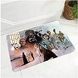 ZRY Alfombra Star Wars Alfombrilla De Dibujos Animados Sala De Estar Dormitorio Niños Mesa De Centro Rectangular Baño Clásico Yoga Alfombrilla Antideslizante Lavable