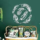 zhuziji Nouvellement conçu Sticker Mural Art créatif de décoration à la Maison, sticker58x58cm de Mur de décoration de Maison...