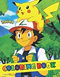 Pokemon Coloring Book: Coloring Book For Kids Color Your Favorite Pokemon Pikachu Charizard Bulbasaur