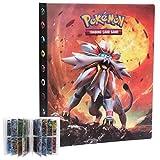 LSST Carte Pokemon Album, Pokemon Raccoglitore, Raccoglitori Carte Pokemon, Porta Carte Pokemon, 30 Pagine -...