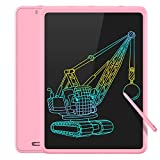 Toys for 3-6 Years Old Girls, LCD Writing Tablet 11in Large Electronic Reusable Doodle Board, Drawing Tablet Drawing Pads, Educational Birthday Gift for 3 4 5 6 Years Old Girls Boys Kids (Pink)