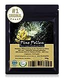 Muskelaufbaumittel -PINE POLLEN (Pinien Pollen) - Natürliche Wildsammlung | TOP-Qualität vom Original | ISO-9001-zertifiziert + laborgeprüft | 100g