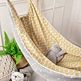 Joint Gou Baby Hammock for Crib, Cotton Infant Toddler Hanging Sleep Bassinet,Detachable Portable Better Sleep Hanging Swing Bed Frame Accessories, for 3 Months-6 Years Old