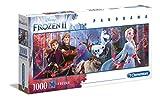 Clementoni- Puzzle 1000 Piezas Panorama Frozen 2 (39544.6)