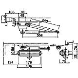 YKK用 ドアクローザ YB ブロンズ HH-U-0004 (K-11430)