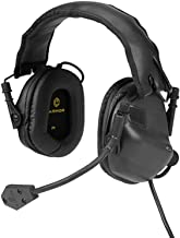 OPSMEN Tactical Earmor M32 Electronic Headphones w/AUX Input (Black)