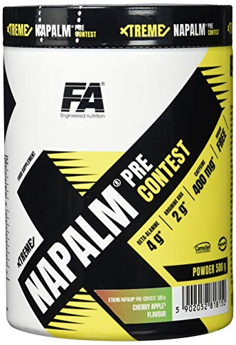 FA Nutrition Xtreme Napalm Pre-contest - 500g - Kirsche-Apfel - Pre-workout booster