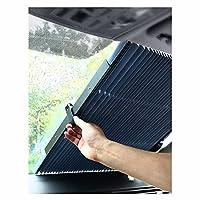 サンシェードの格納式フロントガラスのアップグレード調節可能なSun Visor Protector Sunshadeあなたの車のクールなブロックの熱を保ち、ほとんどのフロントガラスにフィット (サイズ : 70cm)