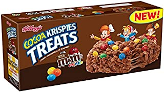 Rice Krispies Kellogg's Treats, Chocolate with M and M Minis, 5.64 Ounce