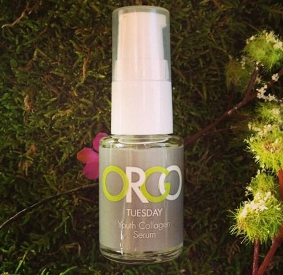 ORGO Natural Skincare Health Youth Collagen Growth Facial Serum - Solutions Collection Tuesday - 7 Serums Skincare System