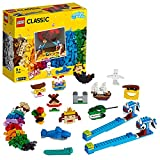 LEGO11009ClassicLadrillosyLuces,JuegodeConstrucción,ActividadesCreativasparaniñosde+5años