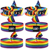 Pulsera LGBT x6 Tela Pride Pulsera Bandera Pulsera Orgullo Gay Pulsera LGBT+ Pulsera Arcoiris Cinta LGBTI Cinta Arcoiris Pulsera Gay