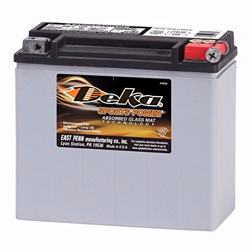 Deka Power Sports ETX20L Battery