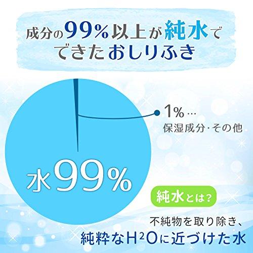 『トイ・ストーリー 純水99% おしりふき 80枚入×20個 (1600枚) 日本製 パラベンフリー』の3枚目の画像