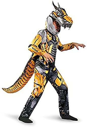 Disguise Transformers Age of Extension Grimlock Deluxe Boys Costume, 4-6X