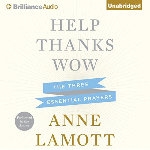 Help, Thanks, Wow audiobook cover art
