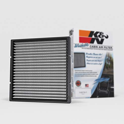 K&N Premium Cabin Air Filter: High Performance, Washable, Clean Airflow to your Cabin: Designed For Select 2000-2014 Toyota/Subaru/Mitsubishi/Lexus Vehicle Models, VF2002