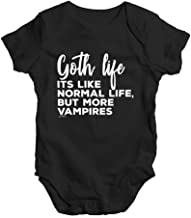 TWISTED ENVY Bodysuit Baby Romper Goth Life