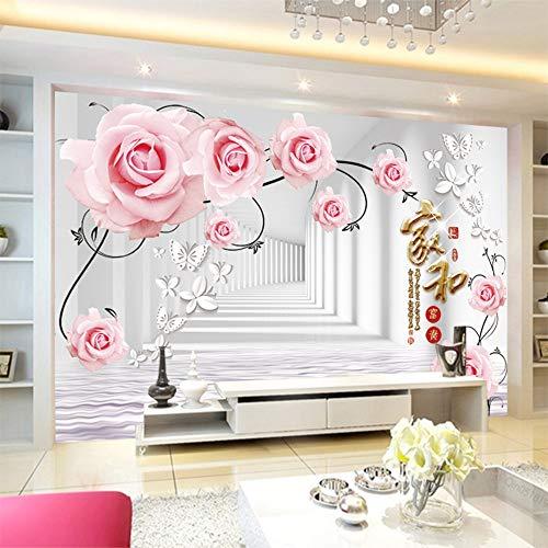 Tapete, einfarbig, für Wohnzimmer und Fernseher, 3D-Hintergrund-Tapete, nahtlos, 200 cm x 140 cm