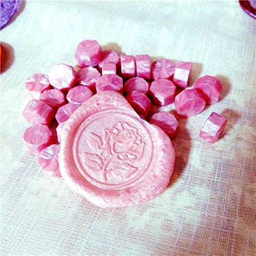 100 pcs/lot Vintage Cire D'étanchéité Tablette Pilule Perles pour Enveloppe De Mariage Cire Sceau Ancien Cire Cachet Timbre avec sac en plastique, Couleur 04
