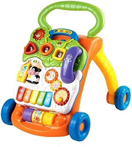 Ladan Puzzle Toy Baby Walker Intelligence M Max 68% OFF Development Dedication Trolley