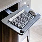 Seville Classics Airlift 360 Adjustable Under-The-Desk Ergonomic Keyboard Tray