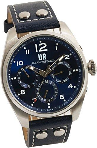[アーバンリサーチ] 腕時計 UR002-02 メンズ ブルー