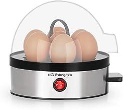 Orbegozo CU 5100 Eierkoker met automatische uitschakeling, capaciteit voor 7 eieren, BPA-vrij, behuizing van roestvrij sta...