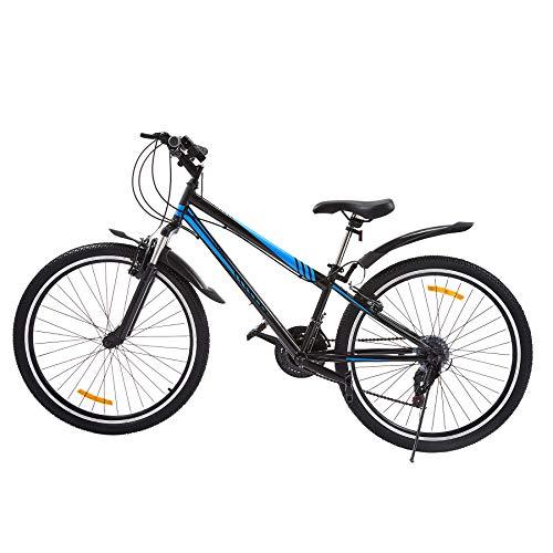 Z ZELUS Mountainbike 26 Zoll Fahrrad Rad Bike 21 Gang Hardtail Mountainbike Mit verstellbarem Sitz V-Brakes Fahrrad für Herren und Damen