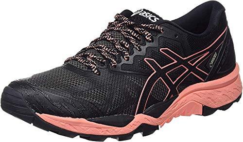 ASICS Gel-Fujitrabuco 6 G-TX, Chaussures de Trail Femme, Noir (Black/Begonia Pink/Black 9006), 37.5 EU