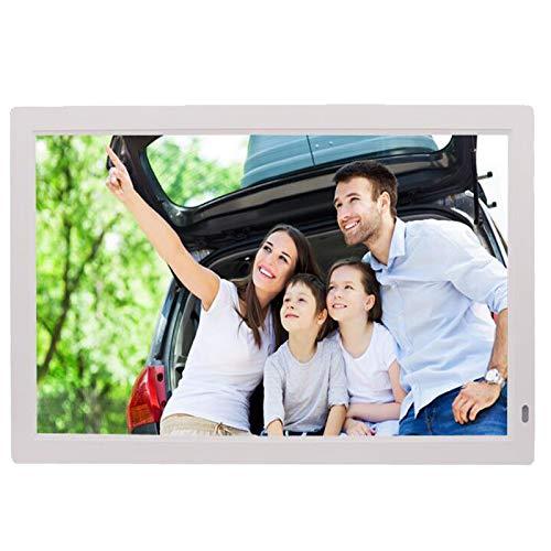 GAOwi 21.5'Frame de Fotos Digital Marco electrónico 1440 * 900 1080P MP3 MP3 MP4 Control Remoto,Blanco