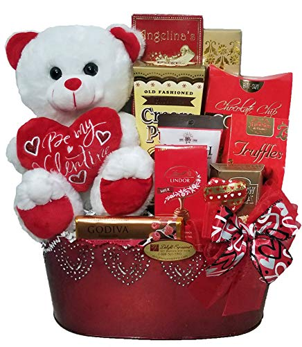 Delight Expressions 'Sweet Temptation' Gourmet Food Gift Basket - A Valentine's Day Gift!