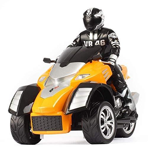 1/10 de 3 ruedas ATV Ready-to-Run motocicleta triciclo Off-Road 2.4G vehículo de control remoto de coches de carreras de alta velocidad del juguete Hijos Adultos metal niño niños pequeños de m