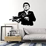 Andre Shop Wall Stickers Vinyl Decal Scarface Gangster Mafia Shootingig1678SX6M2