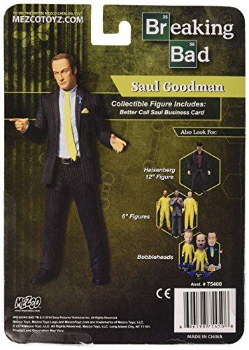 Mezco Toys Breaking Bad Figura Saul Goodman Green Shirt Previews Exclusive 15 cm 2