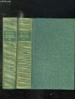 2 TOMES. OEUVRES COMPLETES. de PLATON.