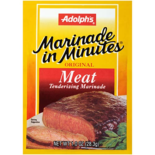 Adolph's Marinade In Minutes Meat Marinade (Meat Tenderizer , Holiday Marinade), 1 oz (Pack of 24)