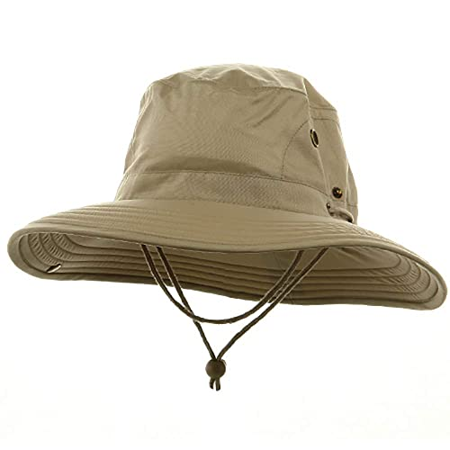 2fe821da3 Big Size Floatable Nylon Oxford Hat - Khaki 2XL-3XL at Amazon Men's ...