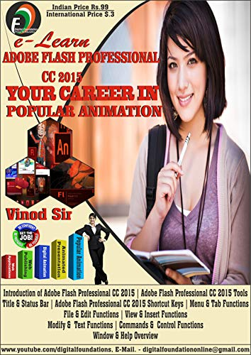Adobe Flash Professional CC (Latest Version): Lifetime Free Updates (English Edition)