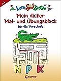 LernSpielZwerge - Mein dicker Mal- und Übungsblock für die Vorschule