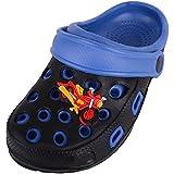 Zuecos de goma para niños, color Negro, talla 18 EU