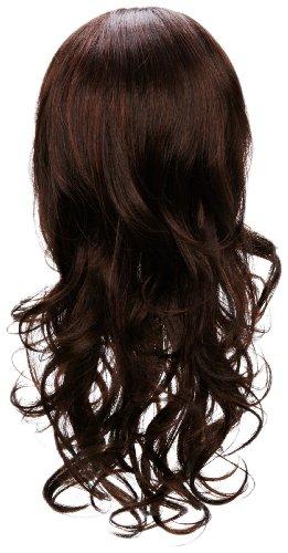 Love Hair Extensions - LHE/W/S/LLARA/M1B33 - Luscious Lara Perruque - Couleur M1B33 - Noir Nature / Cuivre Riche - 46 cm